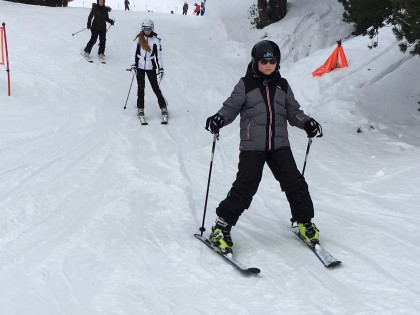 Students revise on ski holiday