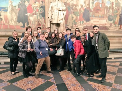 Parliament trip for students