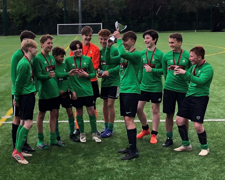 Football success at Epping St John's