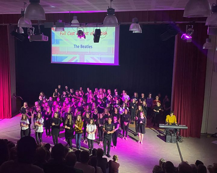 Students showcase the Best of British