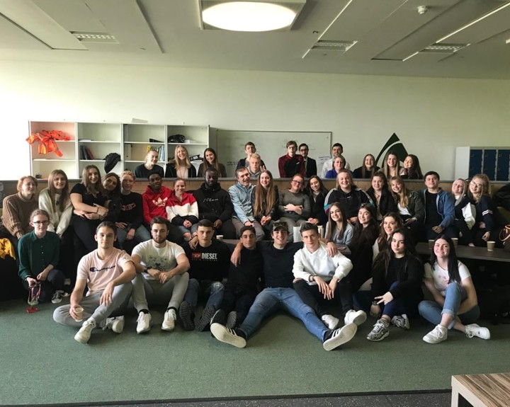 Sixth formers say sudden goodbye