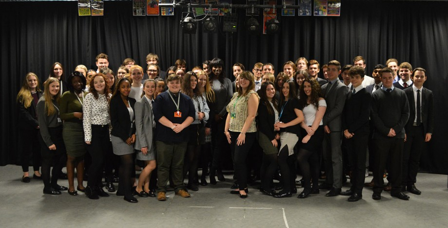 ESJ Lorraine Pascale and sixth form