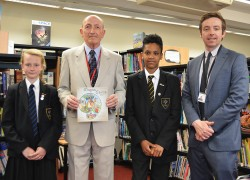 Forest Hall receive gift from Magna Carta Barons Association