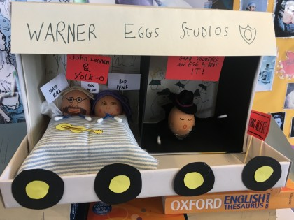 KS3 students get egg-cited about History!