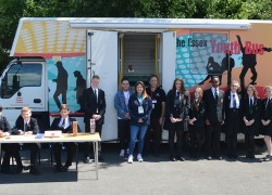 Essex Youth Bus comes to Forest Hall School