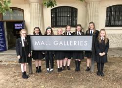 Students' Artwork Displayed Nationally