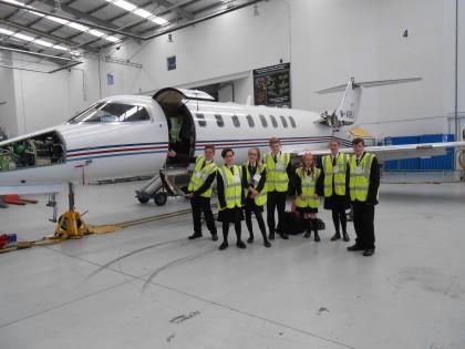 Students Visit Ryanair