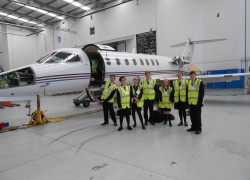 Students Visit Ryanair