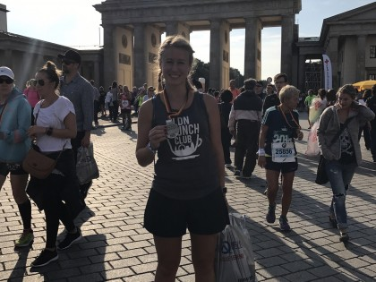 Teacher's latest marathon effort