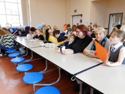 Mother's Day celebrated at school