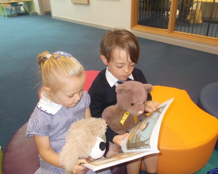 Teddies inspire reading culture